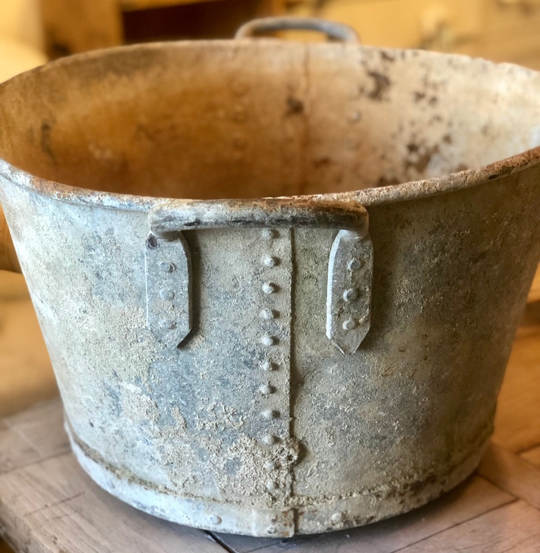 Superb Riveted Zinc Tub
