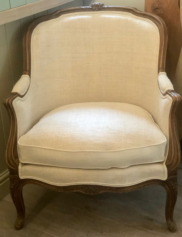 Antique French Bergere - Pair Available