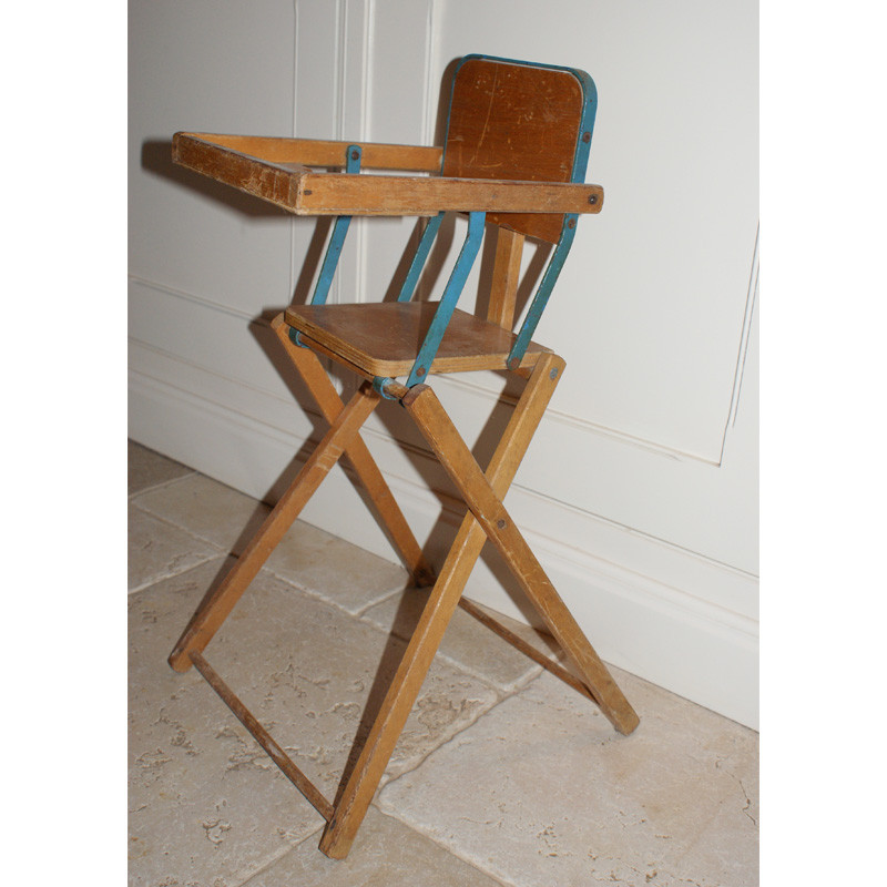 Vintage 'Triang' toy high chair