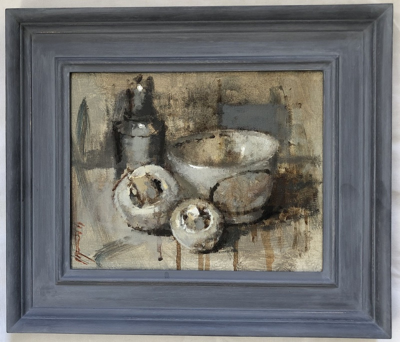 'Winter Light on Pewter' by Andrew Douglas-Forbes