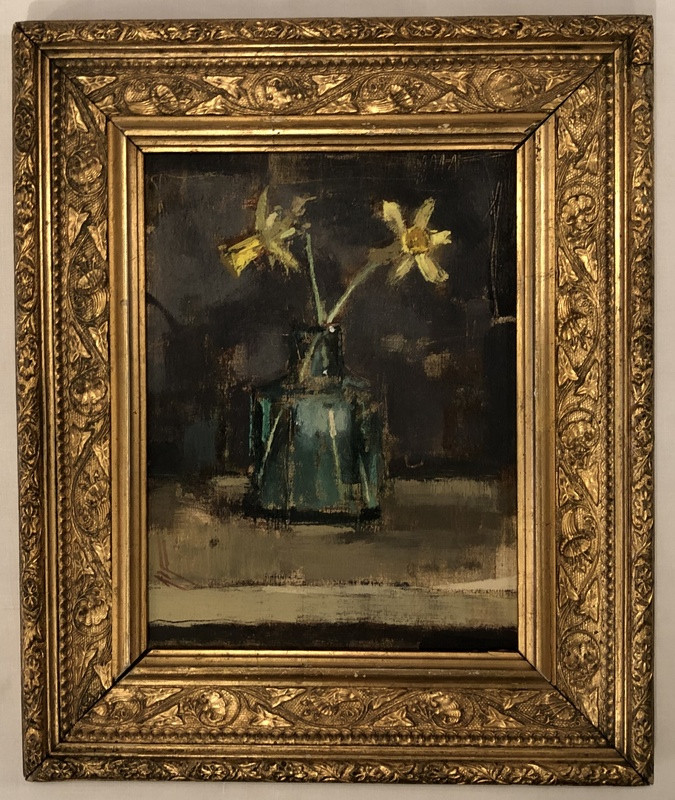 'Tiny Dafs in Gilt Frame' by Andrew Douglas-Forbes