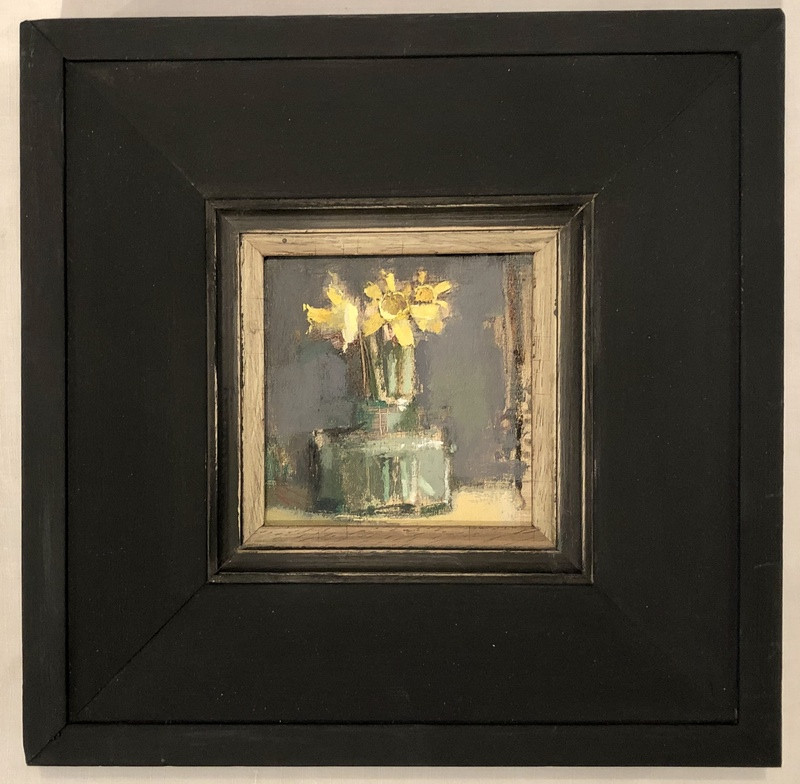 'Tiny Daffs in Glass Jar' by Andrew Douglas-Forbes