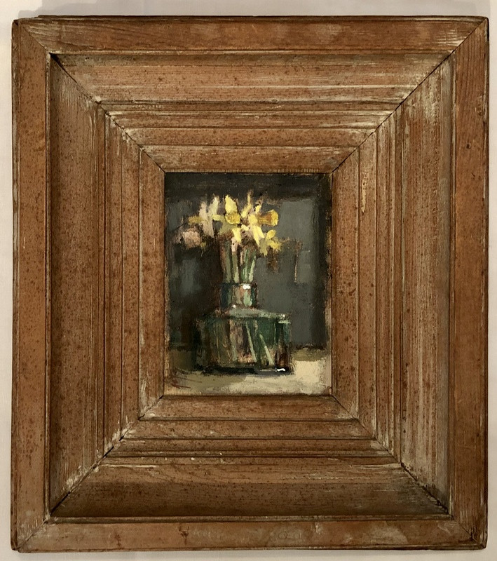 'Ink Pot with Tiny Daffs' by Andrew Douglas-Forbes