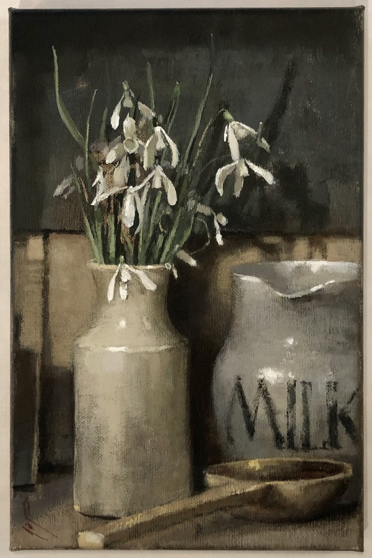 'Liliwen Fach with Milk Jug' by Andrew Douglas-Forbes