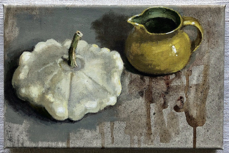 'Patty Pan Squash' by Andrew Douglas-Forbes