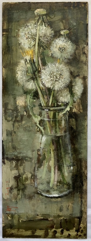 'Dandelion Leaves' by Andrew Douglas-Forbes