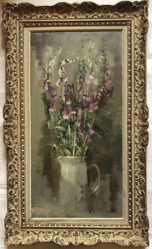 'Foxgloves' by Andrew Douglas-Forbes