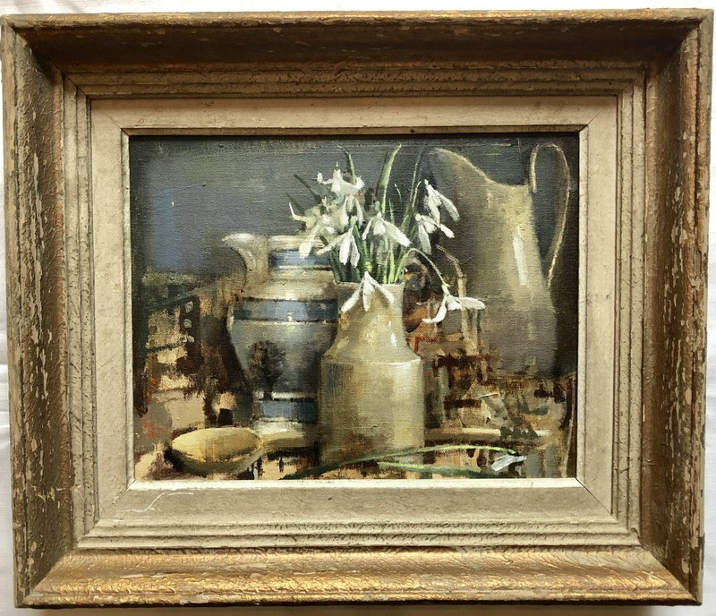 'Snowdrops and Mocha' by Andrew Douglas-Forbes