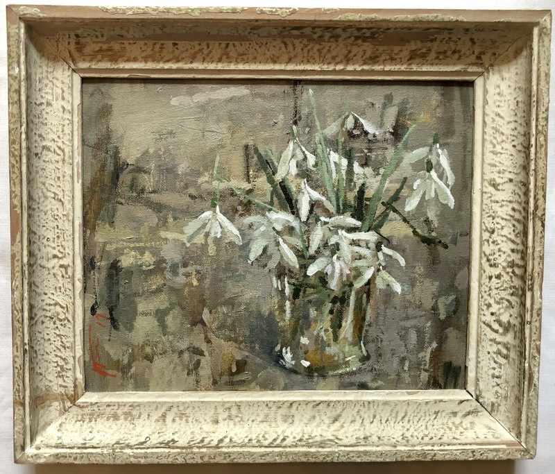 'Snowdrops in Glass' by Andrew Douglas-Forbes