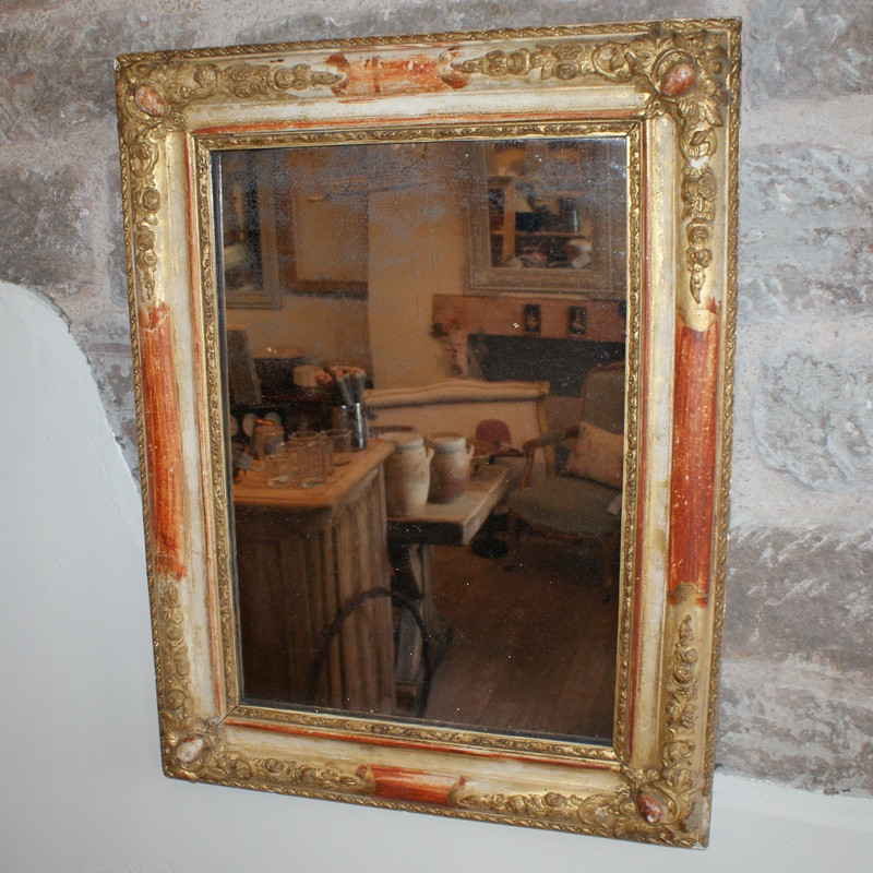 Antique French Mirror - Early 19thC