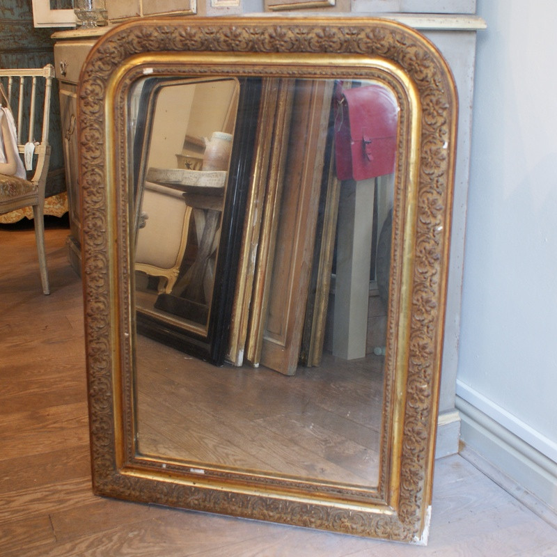 Gilded Louis Phillipe Mirror