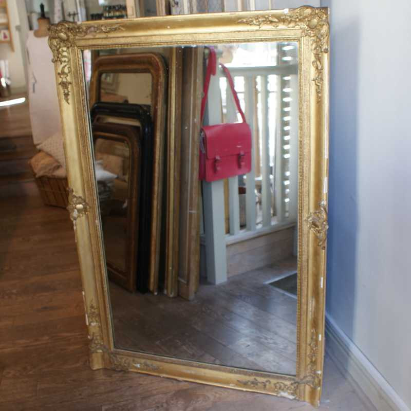 Early/Mid 19thC French Mirror