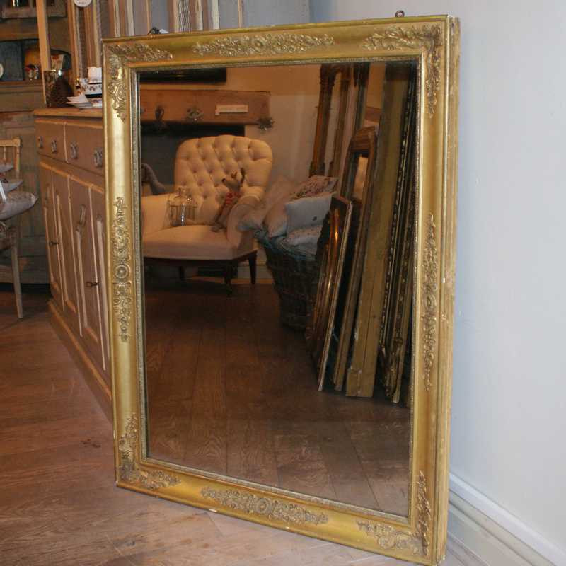 Antique French Mirror - Restoration Period