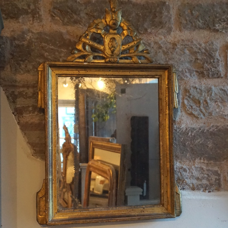 18thC Antique French Mirror