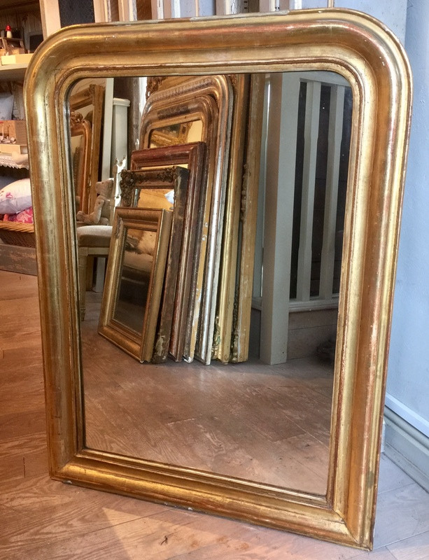 Antique French Mirror - Louis Philipe