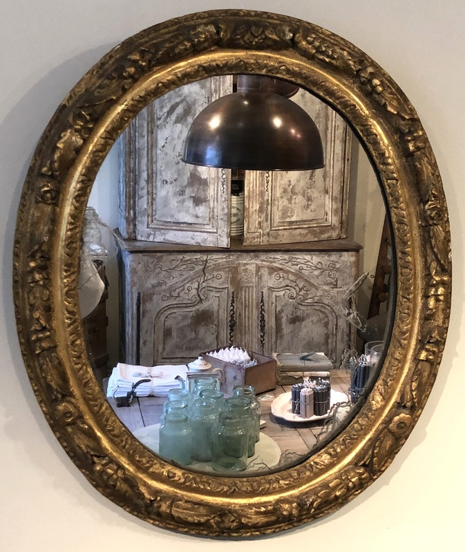 18thC French Mirror