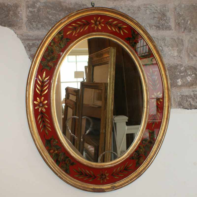 Antique French Venetian Mirror