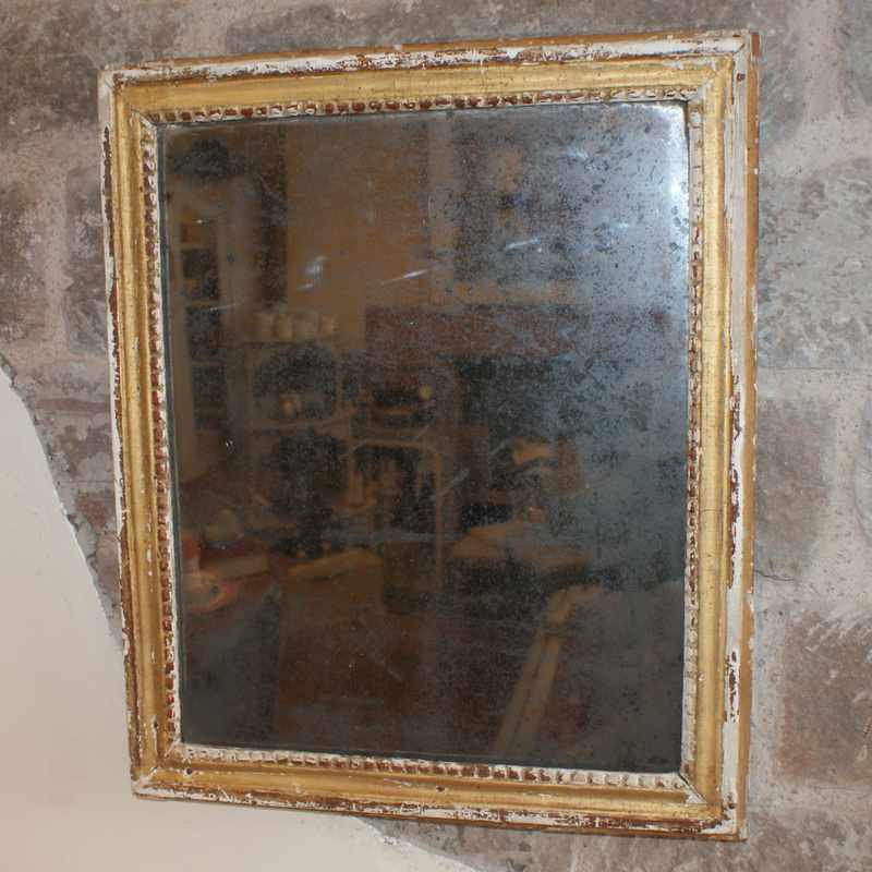 18th Century Antique French Mirror
