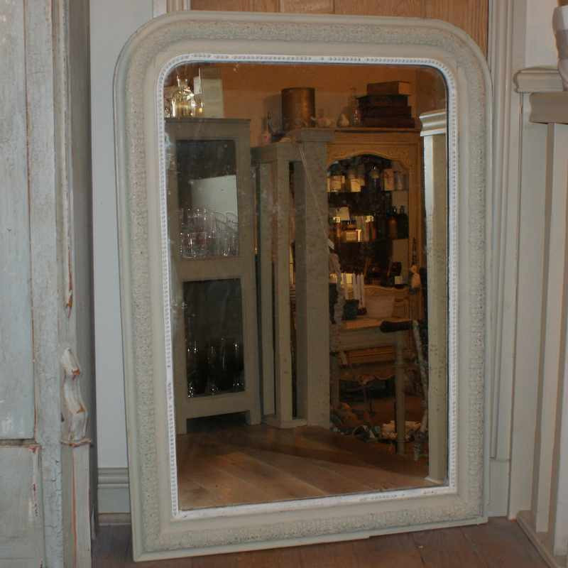 Antique French Louis Phillipe Style Mirror