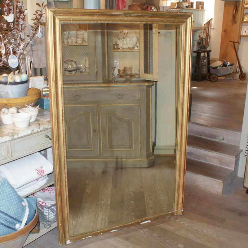 Large Antique French Mirror