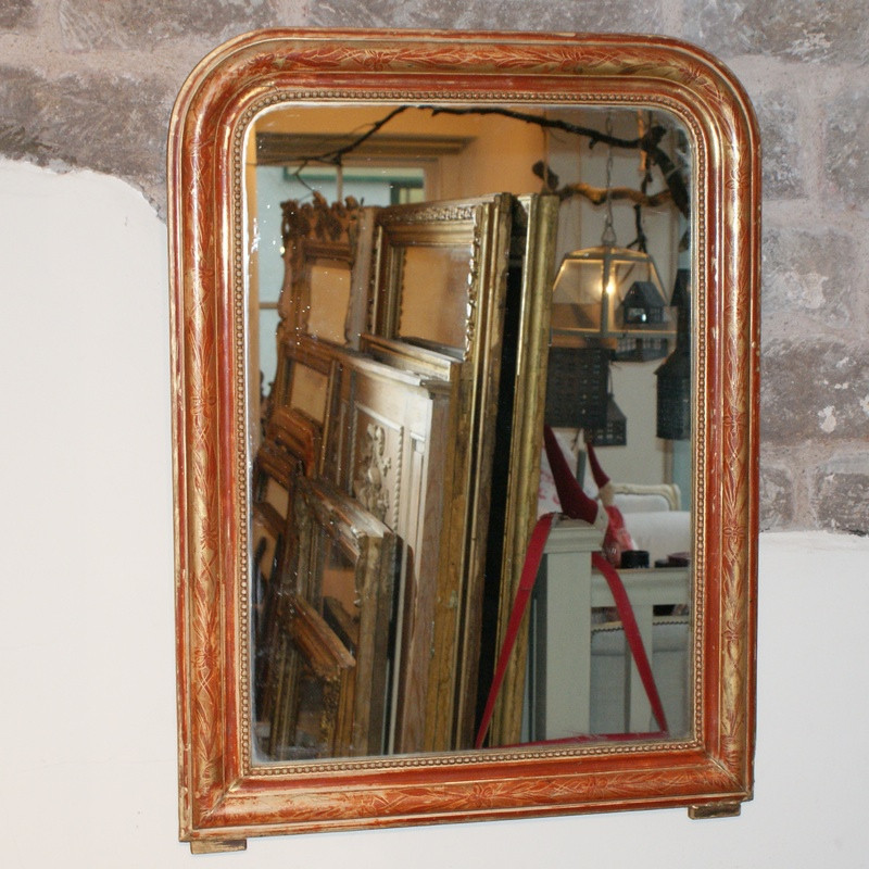 Antique French Louis-Philippe Mirror