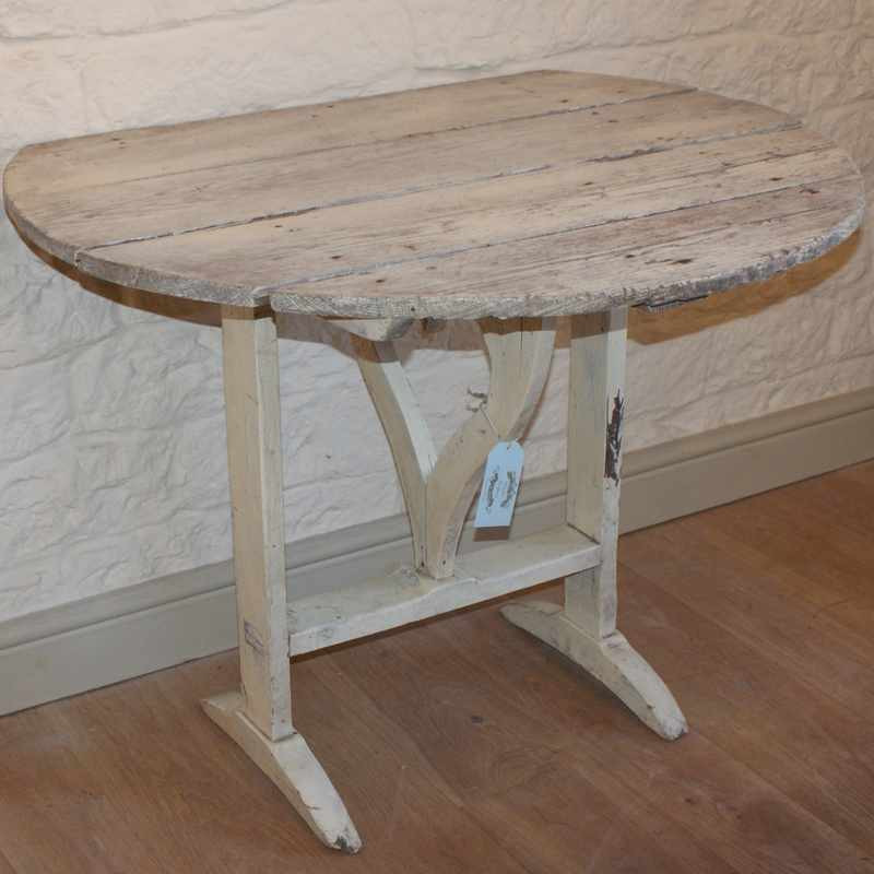 Antique French Dropleaf Table