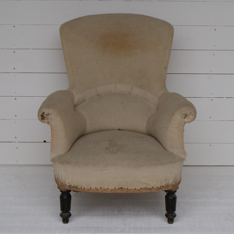 Large Antique French Armchair