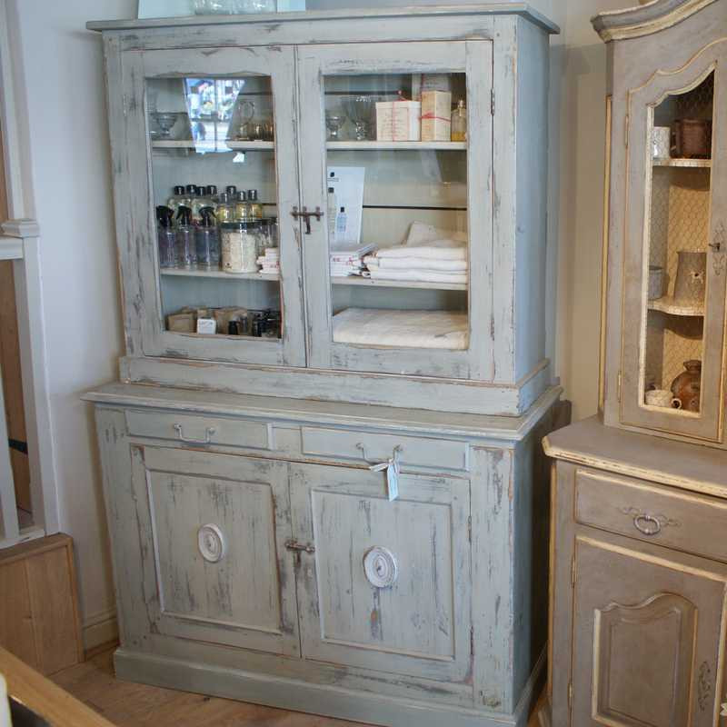 Antique French Glazed Buffet