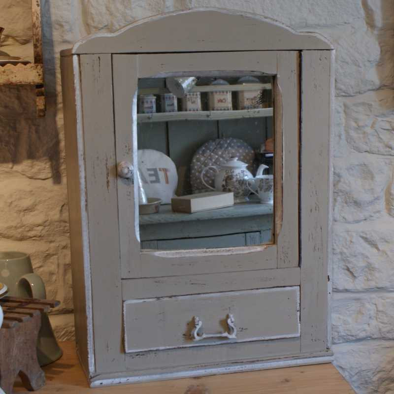 Mirrored Cabinet with drawer