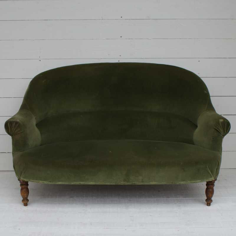Antique French Sofa for Re-upholstery
