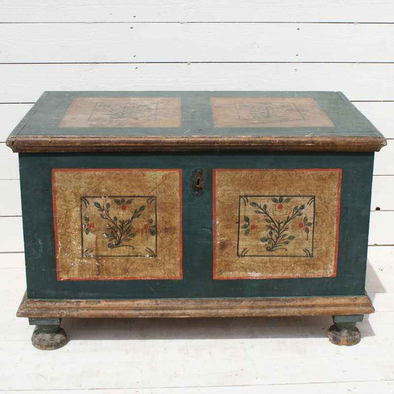 Antique French Blanket Box