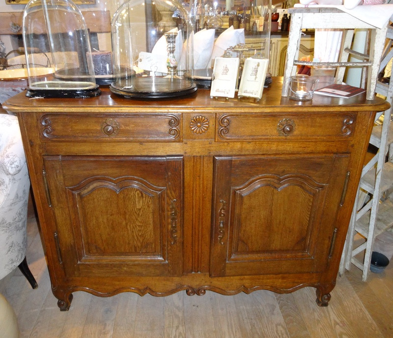 Antique French Oak Buffet