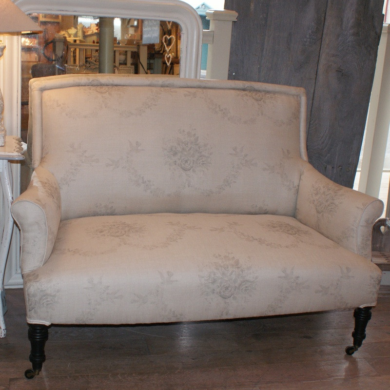 Antique French Two Seater Sofa