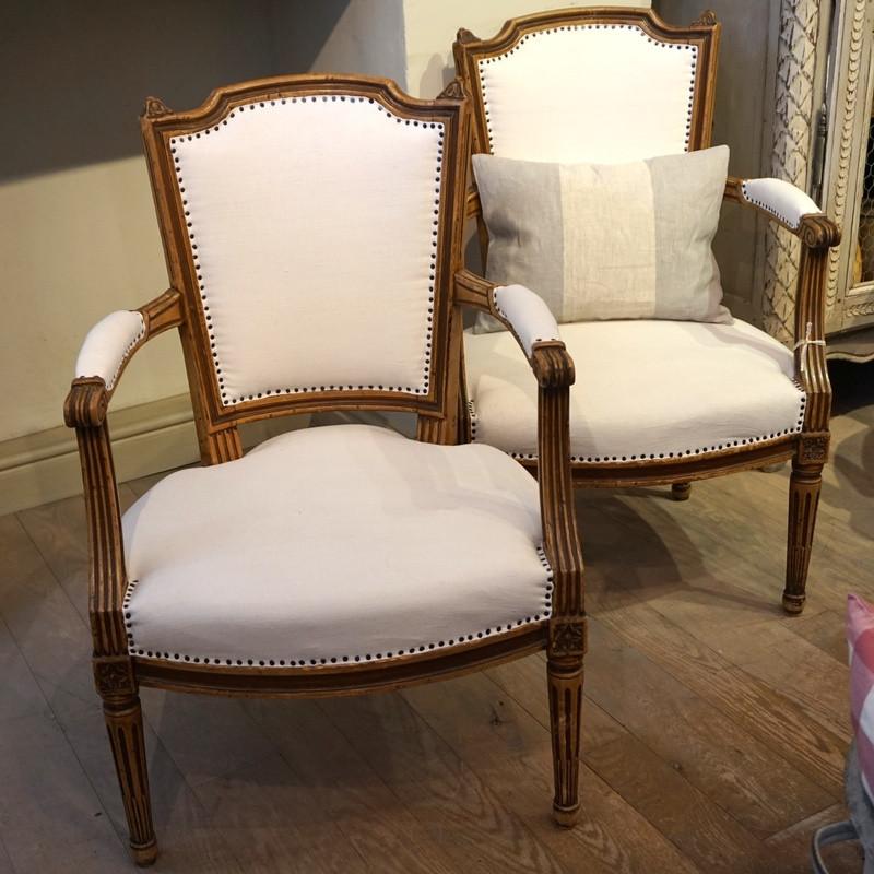 Pair of Antique French Feauteil's