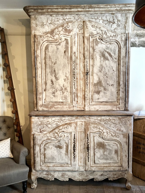 18thC French Buffet Deux Corps