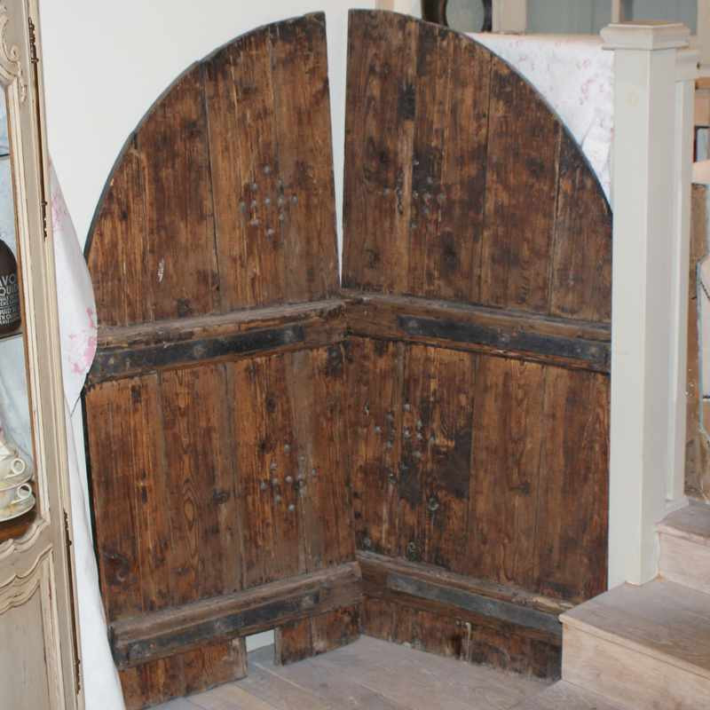 Antique Wooden French shutters