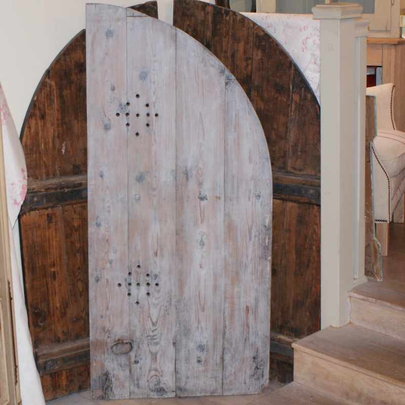 Antique Painted French shutters