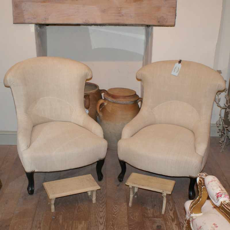Antique French Armchairs
