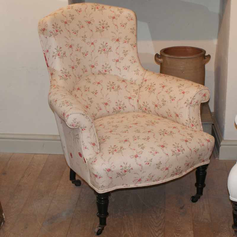 Mid 19thC Antique French Armchair
