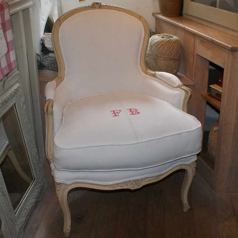 Antique French Bergere - SIMILAR AVAILABLE