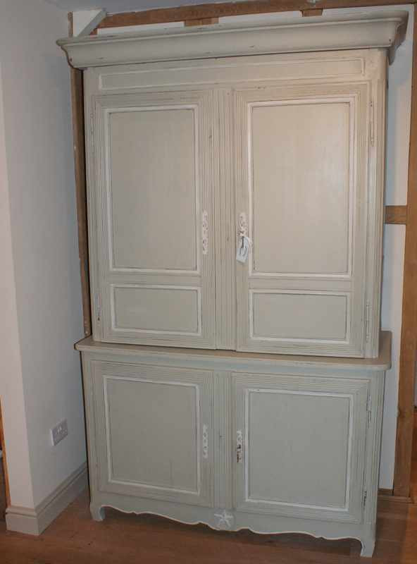 Antique French Linen Press