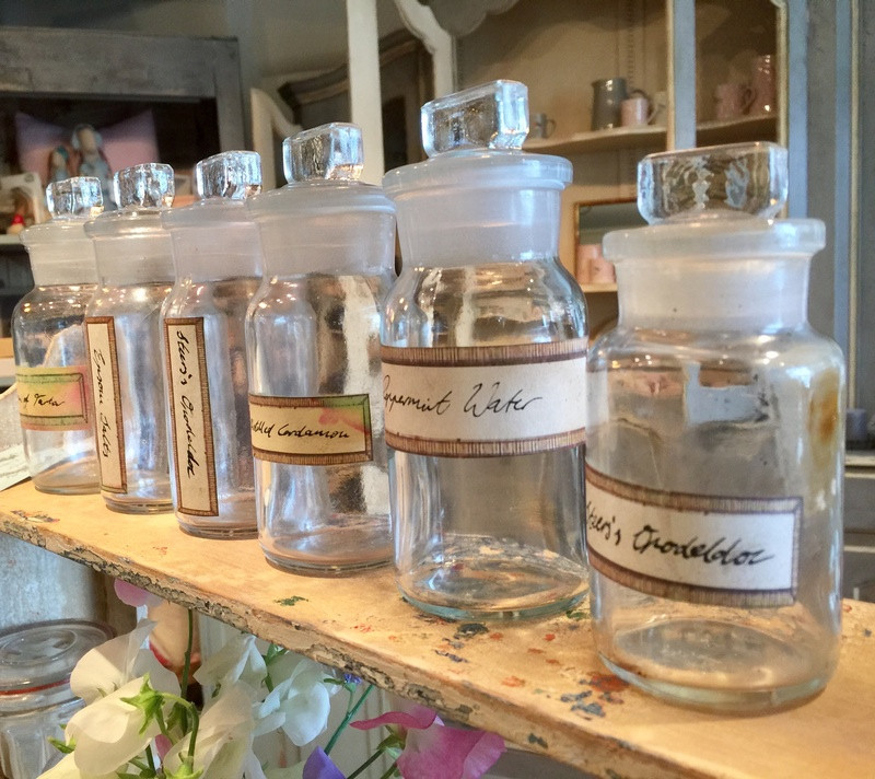Set of 6 Apothecary Jars