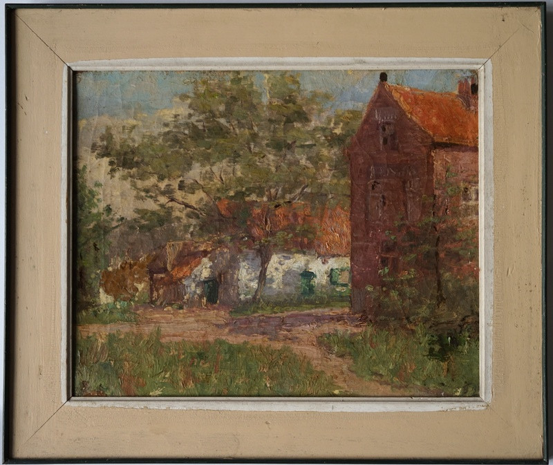 19thC French Oil Painting