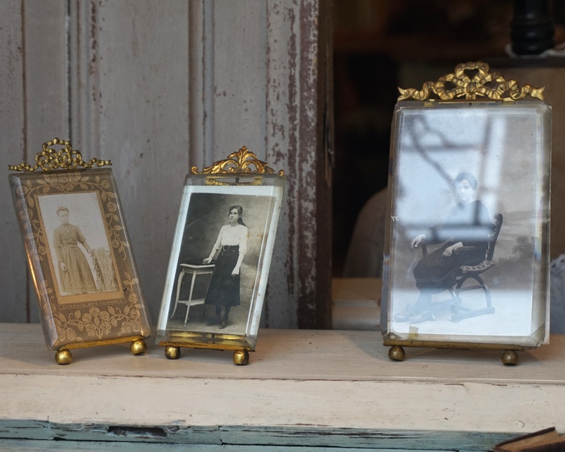 Antique French Photo Frames