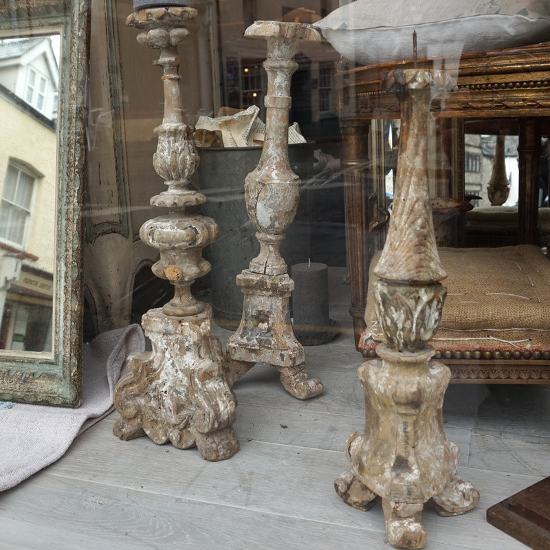 Antique French Candlesticks
