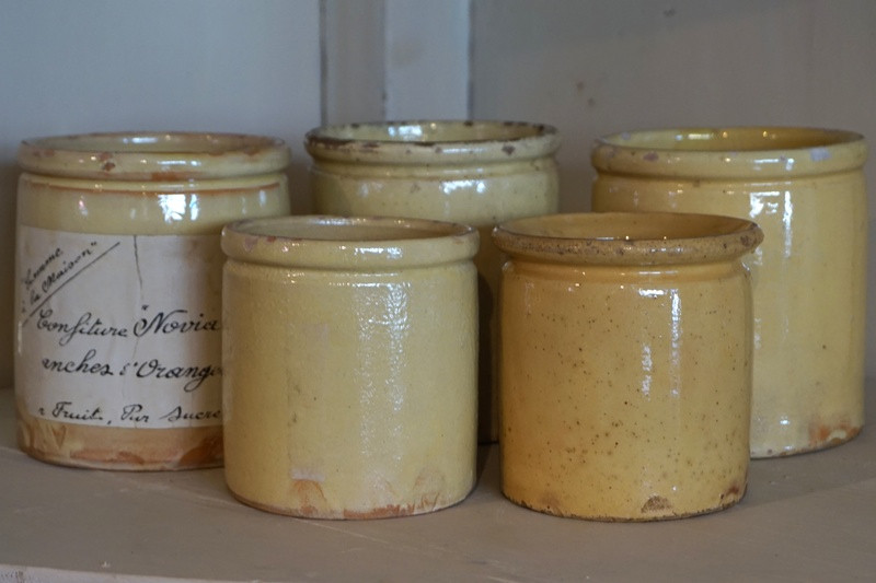 Antique Confiture Pots
