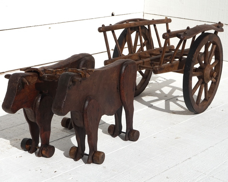 19thC Oxon and Cart