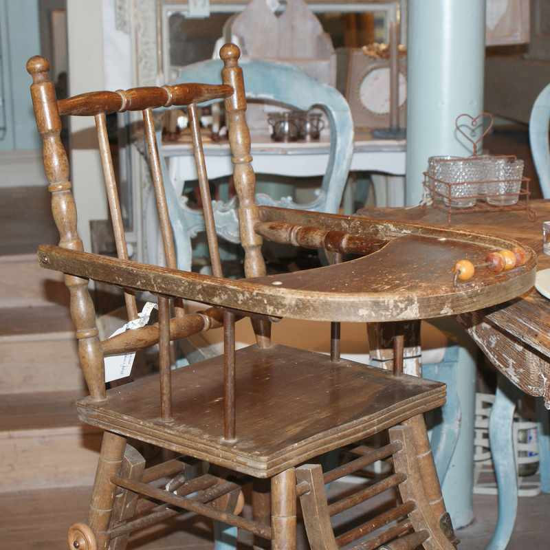 Antique French Highchair