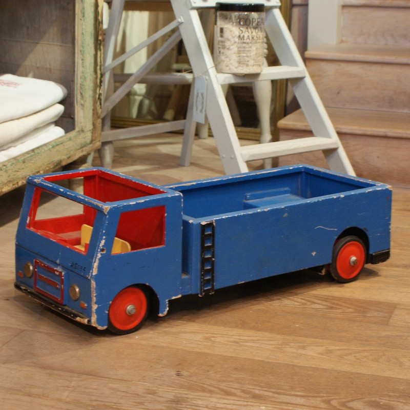 Vintage Large Blue Lorry