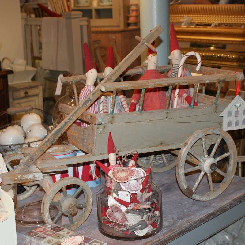 Antique French Childs Cart